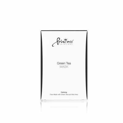 princess skin care green tea mask