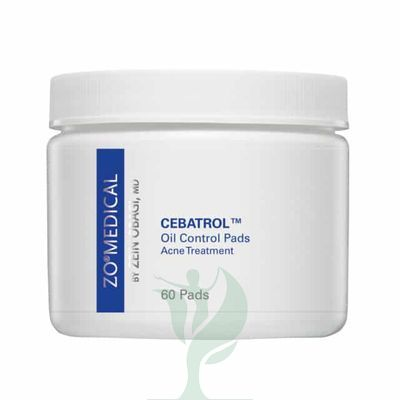 ZO CEBATROL Oil Control Pads, Acne Treatment