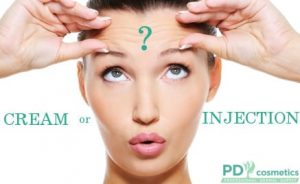 COLLAGEN FOR YOUR FACE: CREAM OR INJECTION?