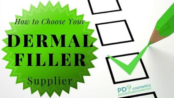 How to Choose Your Dermal Filler supplier
