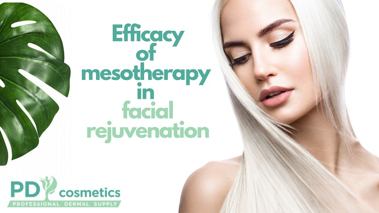 Efficacy of mesotherapy in facial rejuvenation